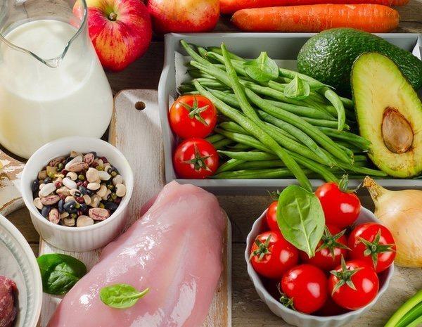 Lista de alimentos para dieta proteica
