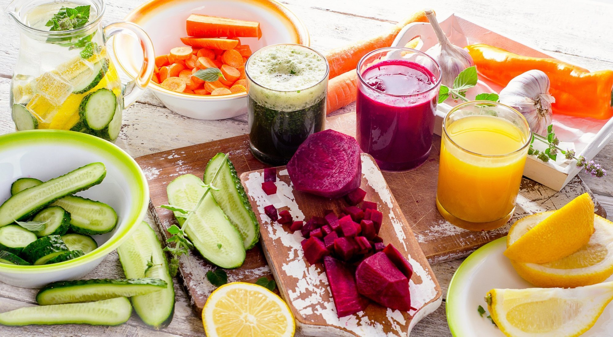 Dieta depurativa o detox: dieta para eliminar toxinas y líquidos