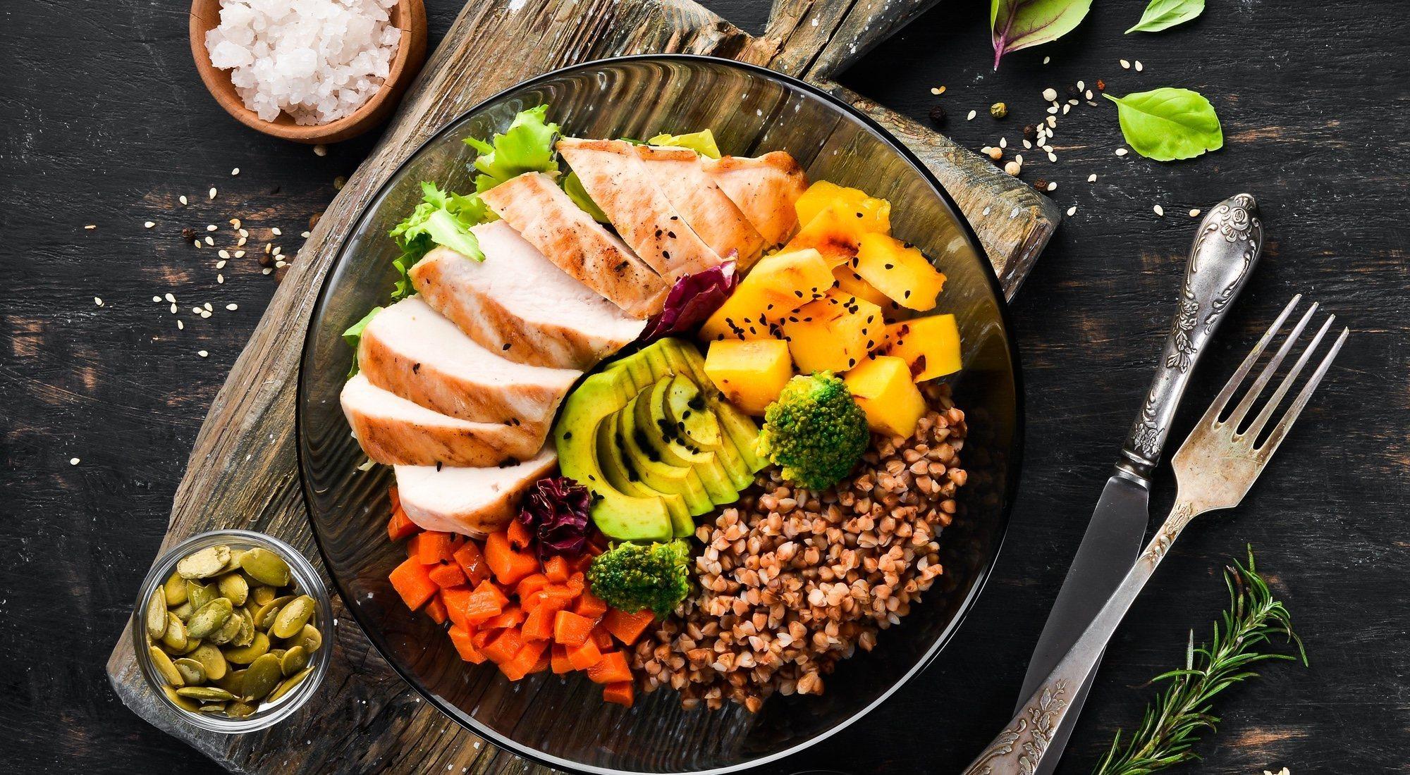 Como bajar de peso con buena alimentacion