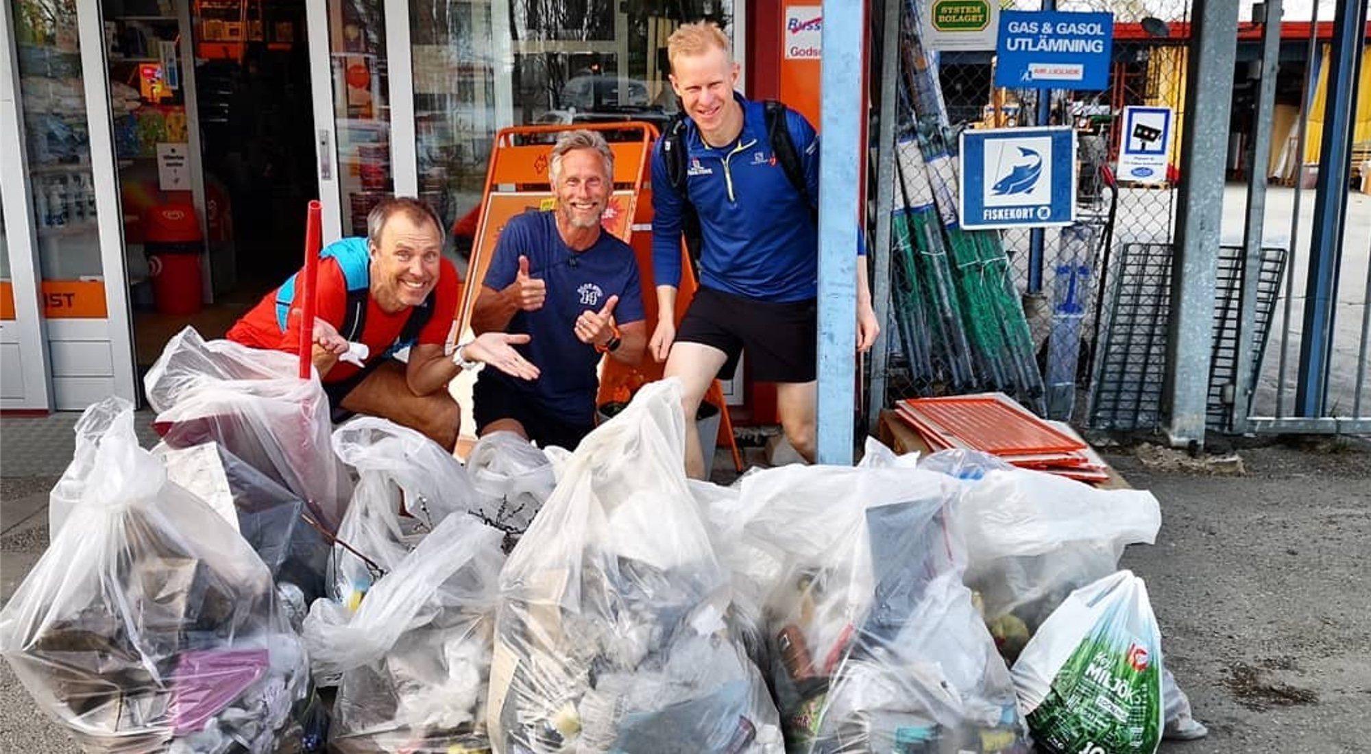 'Plogging', recoger basura mientras corres: la forma de hacer ejercicio que triunfa en todo el mundo