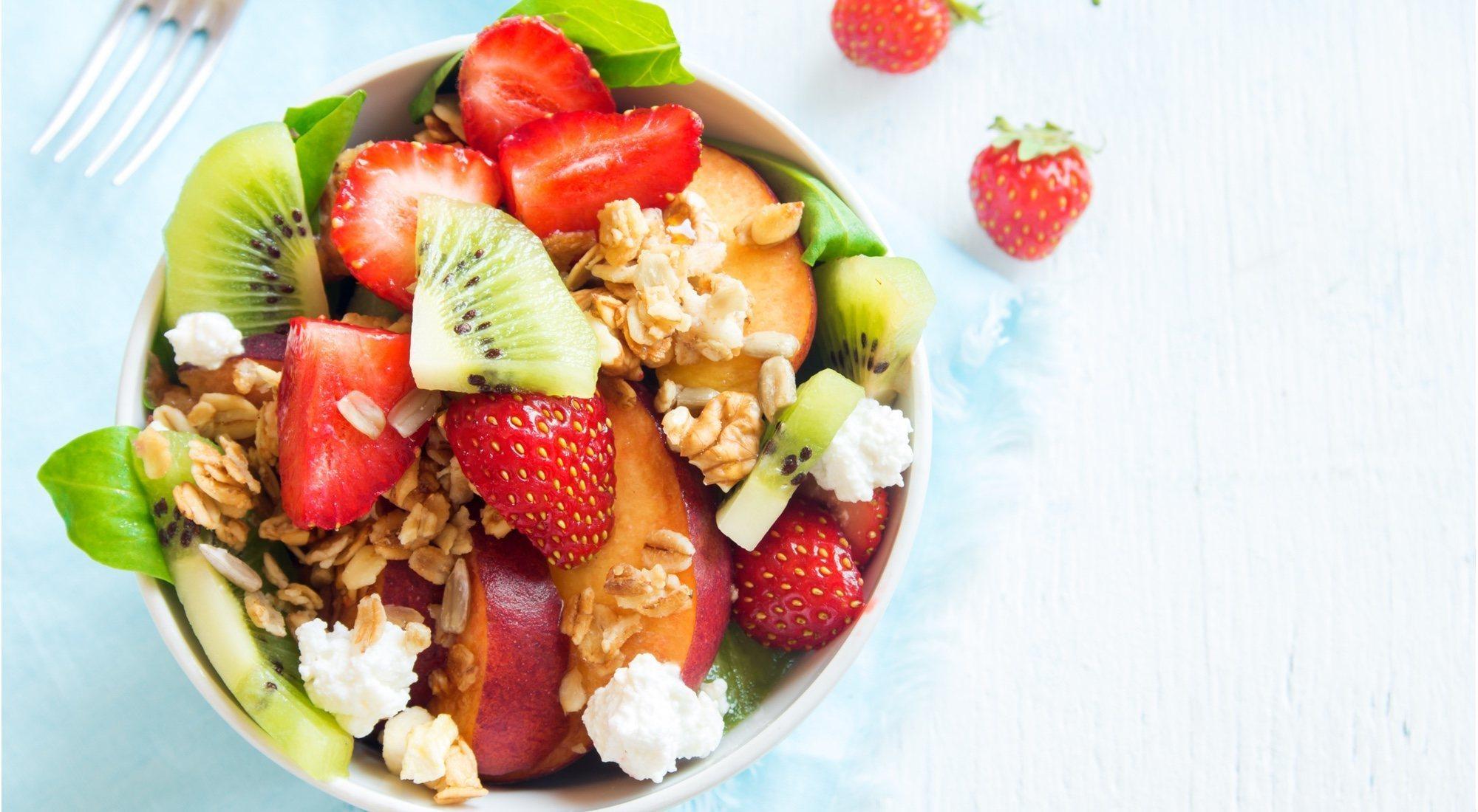 6 recetas de verano que no engordan para deportistas