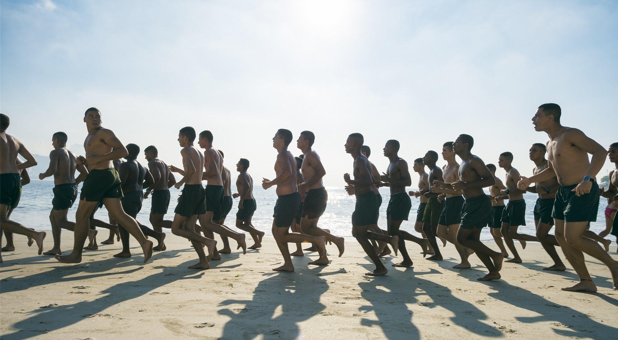 entrenamiento militar para perder peso