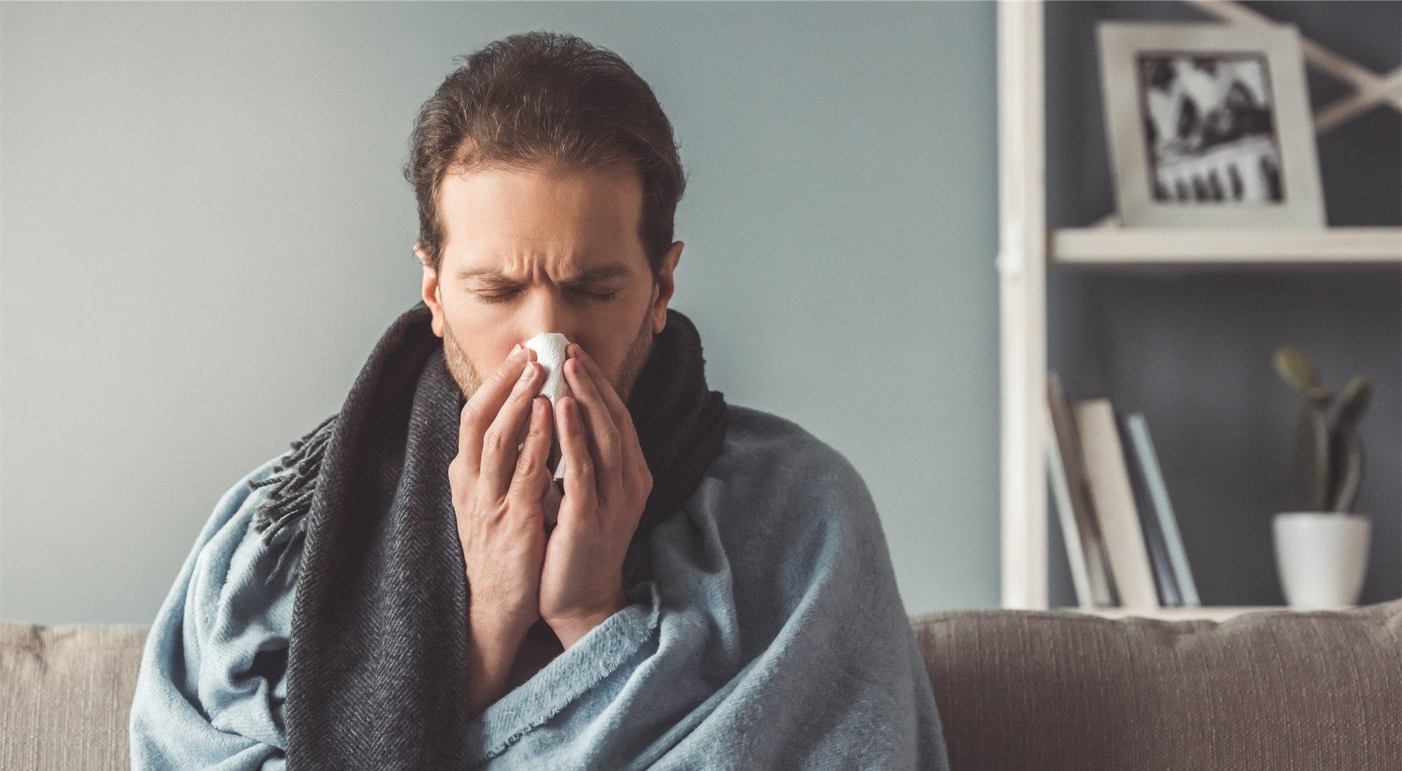 ¿Es aconsejable entrenar si estás resfriado?