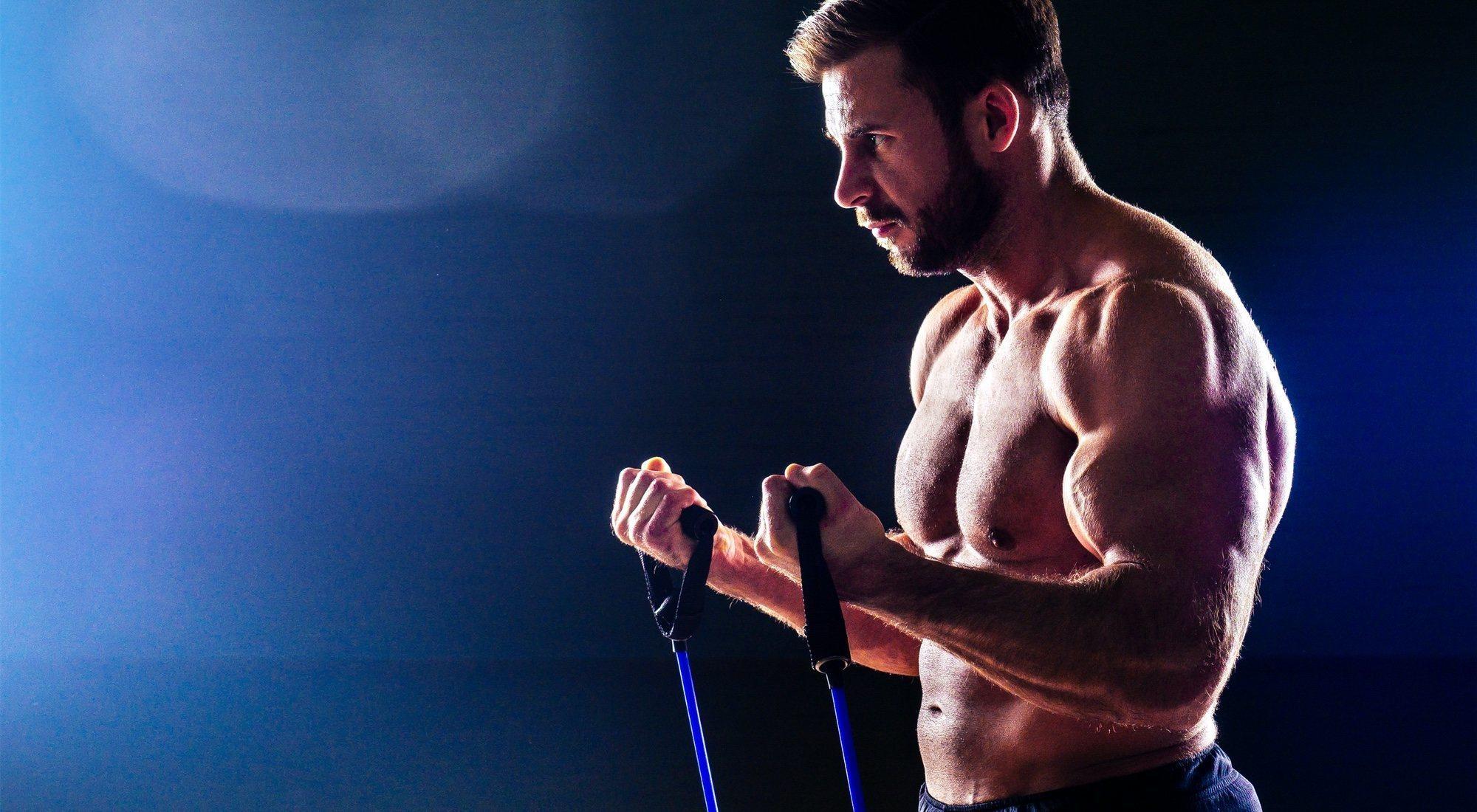 Bandas elásticas de resistencia, tu aliado para ganar músculo