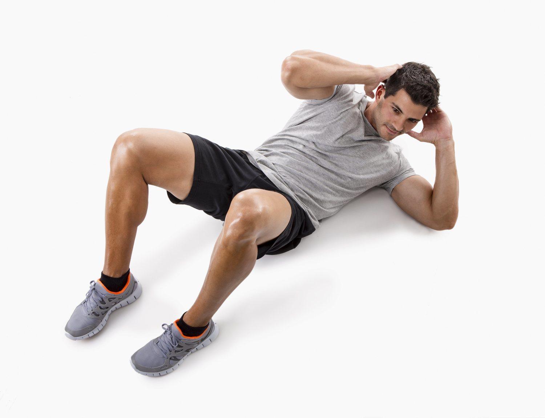 Para conseguir unos buenos abdominales es fundamental ejercitar los oblicuos con ejercicios de torsión del tronco