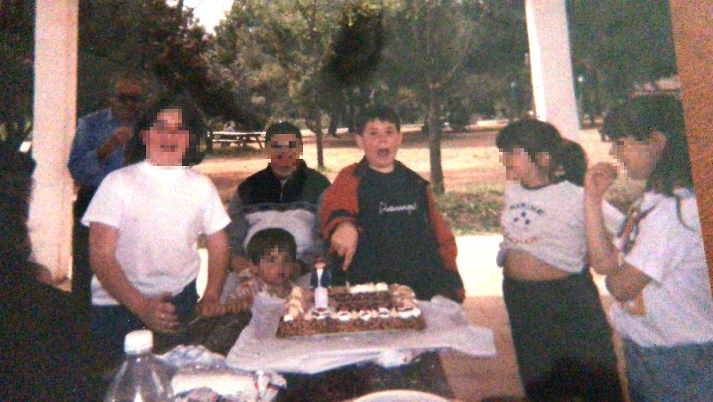 Cuando me hacía con un cuchillo y una tarta, mi familia no se acercaba a menos de tres pasos de distancia