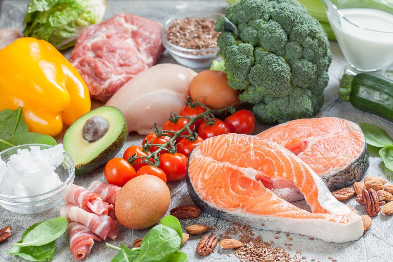 La dieta keto, con bajos carbohidratos, es una de las más de moda últimamente.
