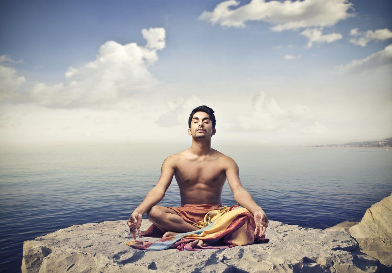 La posición de loto es la más utilizada para practicar la meditación.