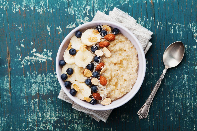 'Porridge', un plato saludable que nos aportará mucha energía.
