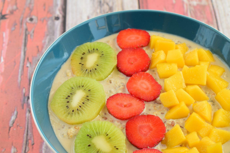 Además de los cítricos; las fresas, el mango y el kiwi son frutas con alto contenido en vitamina C.