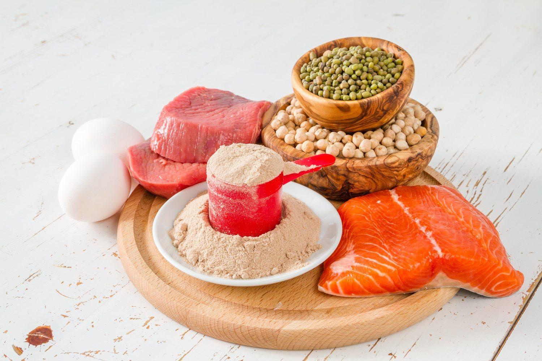 Lácteos, carnes, pescados y legumbres son fuentes de BCAA.