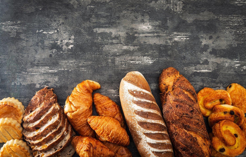La bollería es uno de los principales alimentos con hidratos de carbono refinados.
