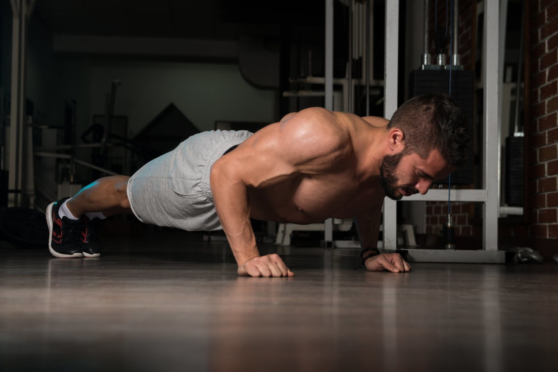 Las flexiones son duras, pero los resultados son bastante efectivos.