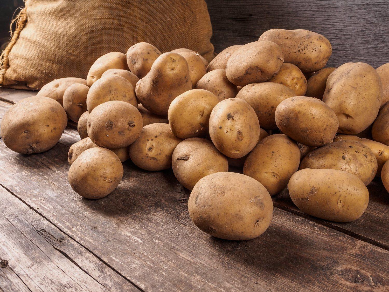 Las patatas tienen un alto contenido en hidratos de carbono.