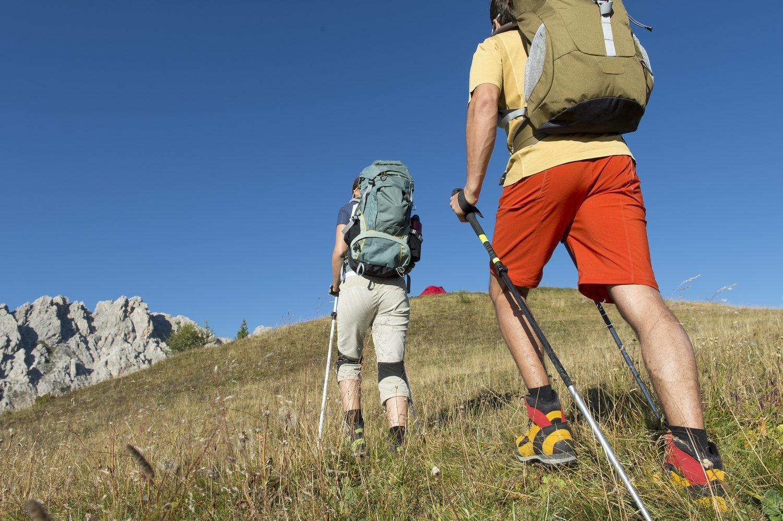 Con la marcha nórdica puedes recorrer rutas de todo tipo y ver paisajes diferentes.