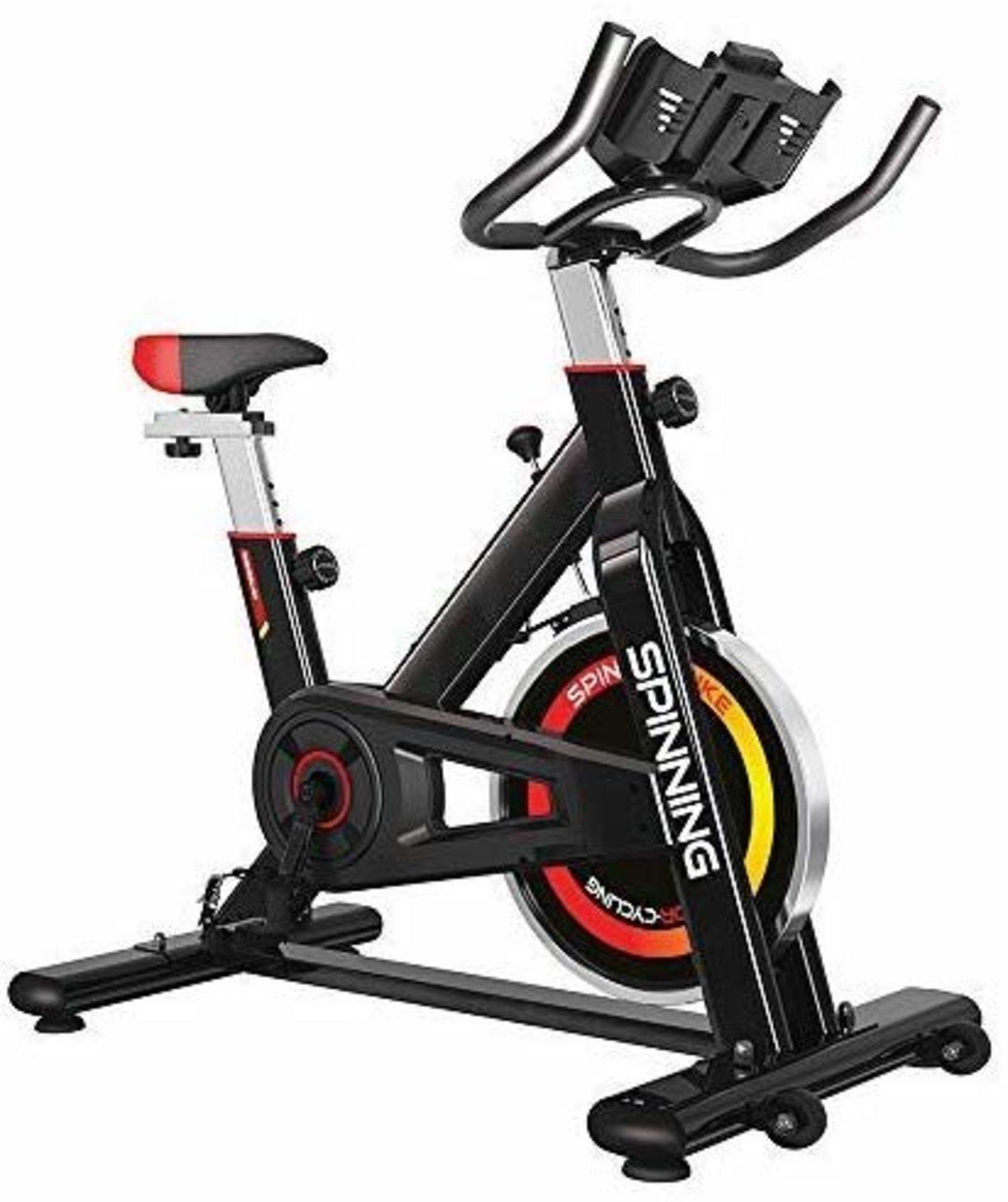 Bicicleta estática Grindilux, perfecta para hacer Spining dentro de casa.