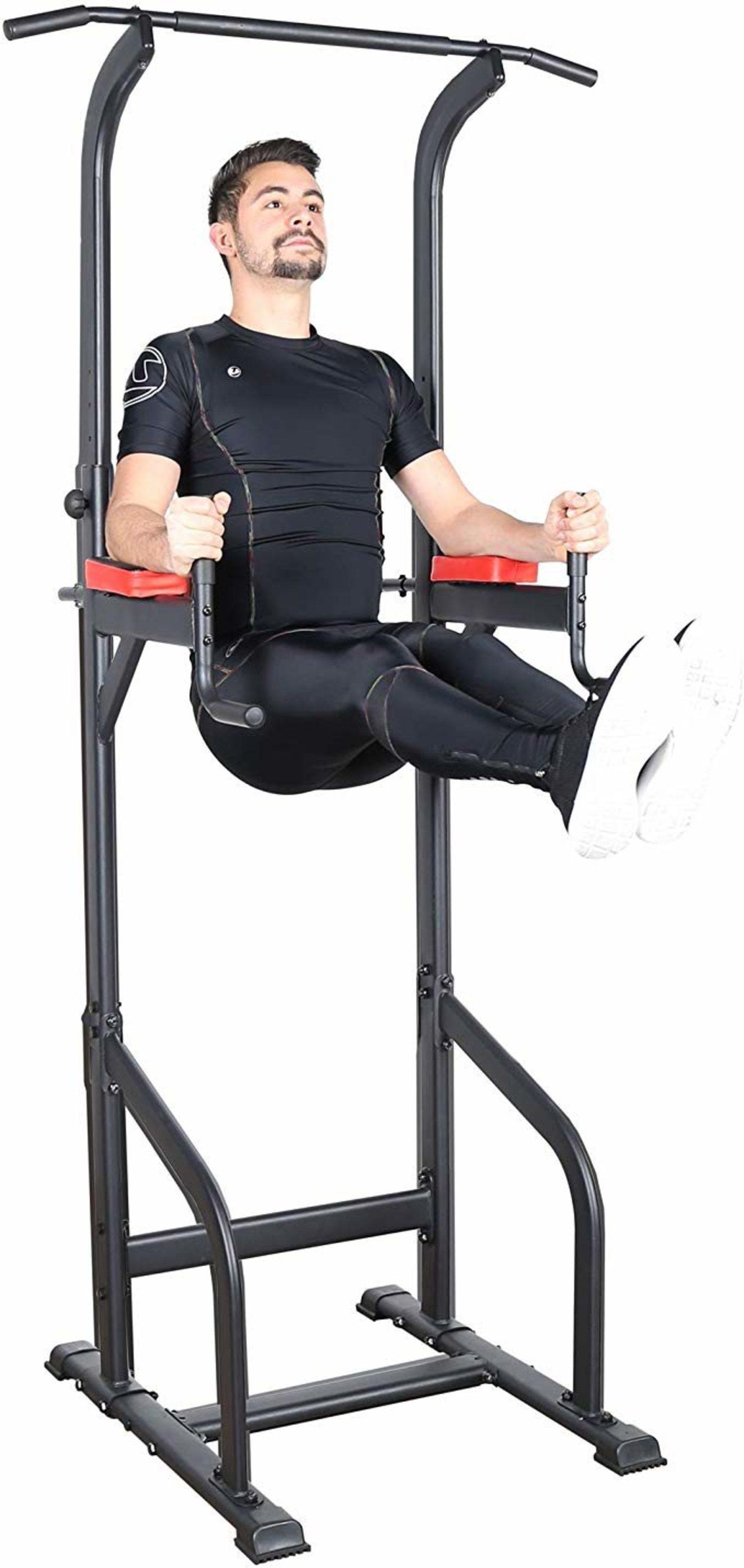 Power Tower de Ultrasport para trabajar todo tu cuerpo en un 'gimnasio en casa'.