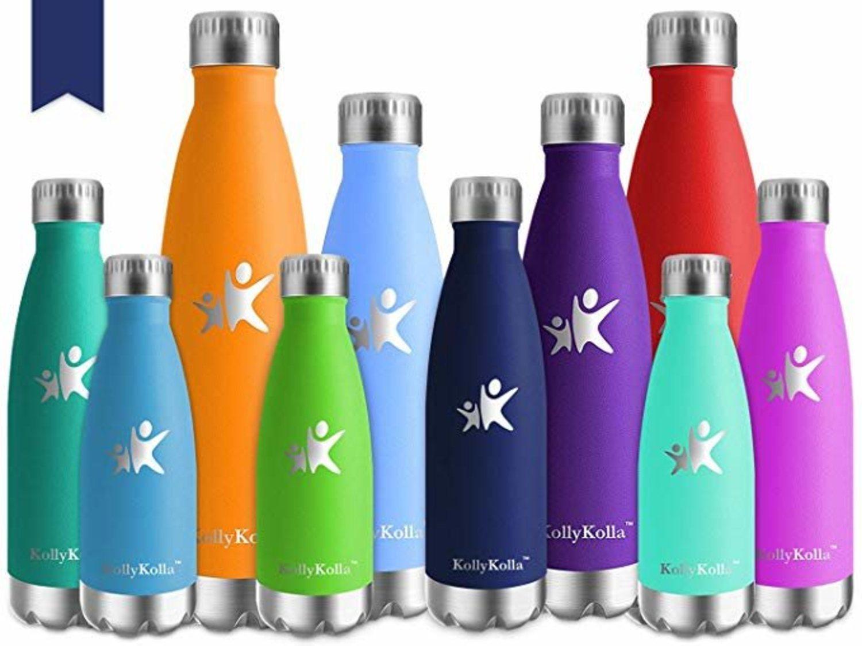 Las botellas de acero inoxidable de KollyKolla son las aliadas perfectas para combatir la deshidratación.