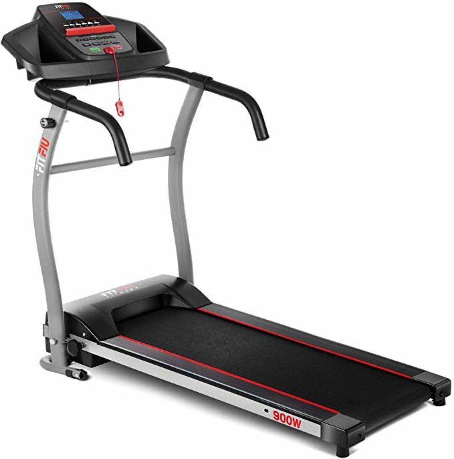 Cinta de correr plegable Fitfiu, ideal para hacer ejercicio en casa, también si no tienes mucho espacio.