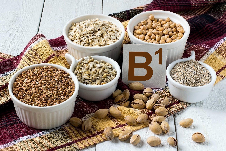 Los frutos secos, semillas y especias son ricos en vitamina B1
