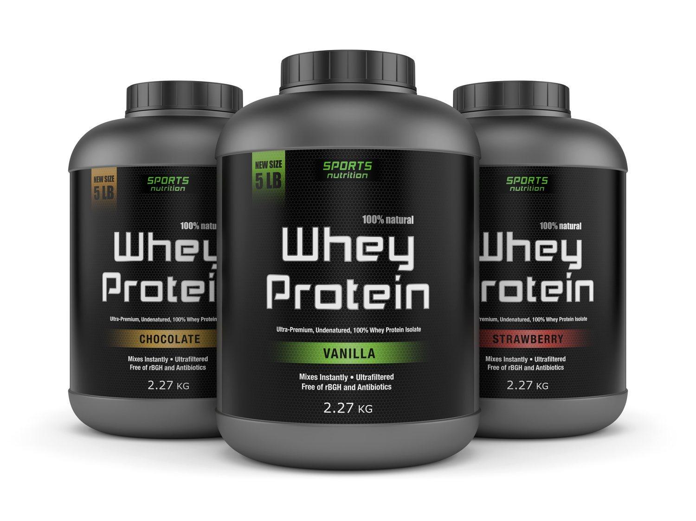 Los batidos de proteínas de whey son habituales entre los deportistas.