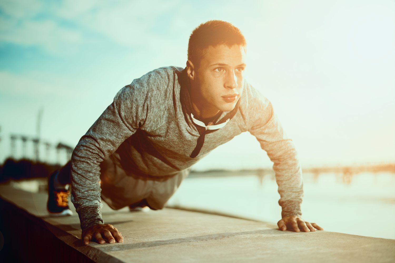 Concéntrate y el ejercicio te resultará mucho más fácil.