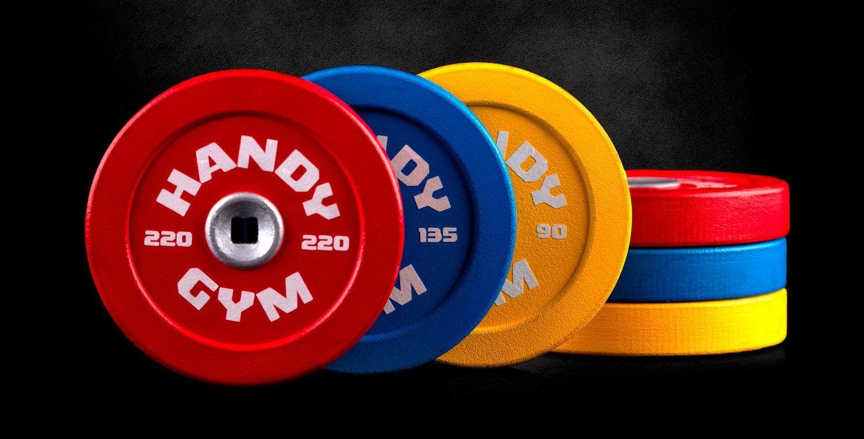 Con estas pesas de apenas 300 gramos y la tecnología inercial, se puede generar resistencias de hasta 100 kg.