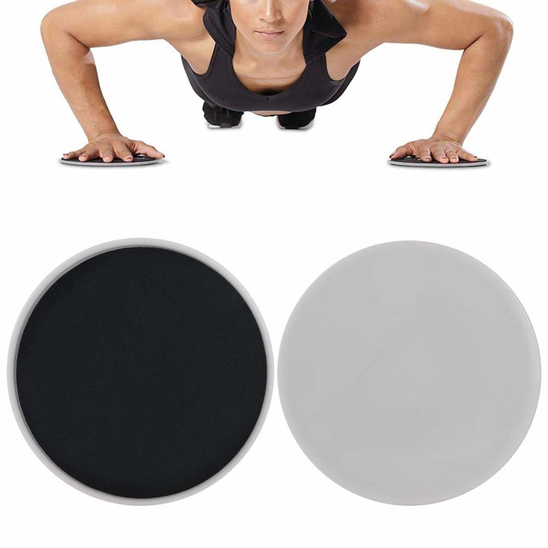 Los 'core sliders' te ayudarán a añadir un esfuerzo extra a tus entrenamientos