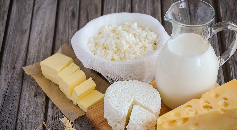 Los lácteos son un alimento esencial en el desayuno.