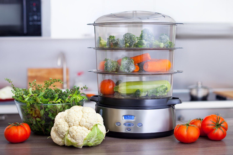 Cocinar al vapor es una alternativa, también sana, a hacerlo a la plancha o en el horno.