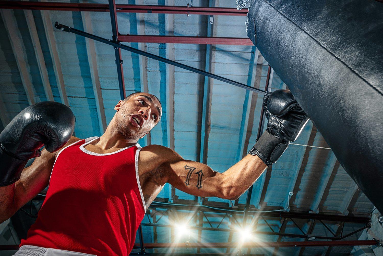 Si tu deporte es el boxeo reducirás el estrés por dos.
